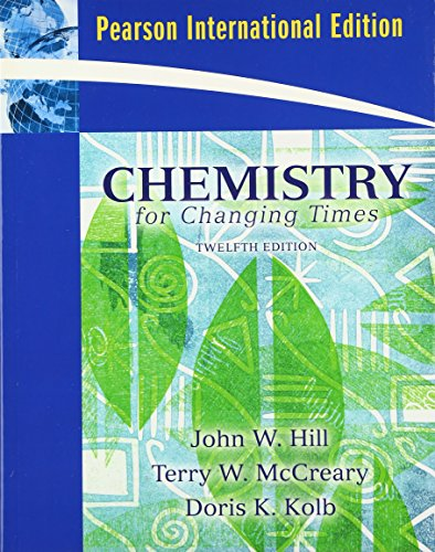 9780132457194: Chemistry for Changing Times