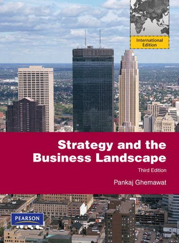 9780132457200: Strategy and the Business Landscape