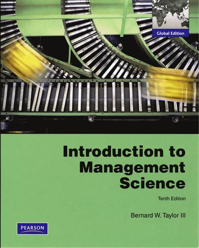 9780132457576: Introduction to Management Science: Global Edition