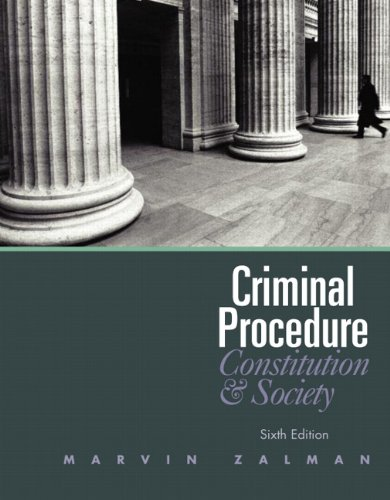 9780132457613: Criminal Procedure (6th Edition)