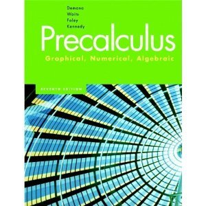 Precalculus: Graphical, Numerical, Algebraic, Media Update