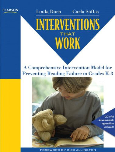 9780132458757: Interventions That Work: A Comprehensive Intervention Model for Preventing Reading Failure in Grades K-3