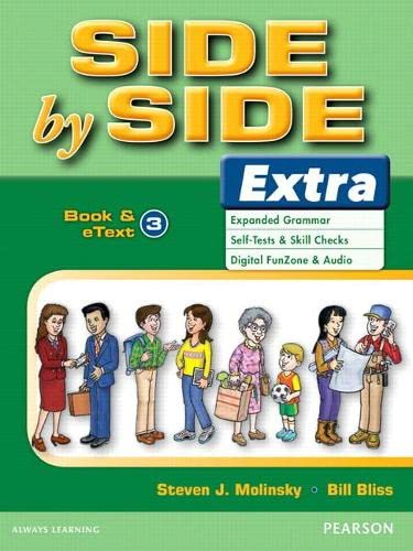 9780132458863: Side by Side Extra 3 Student Book & eText