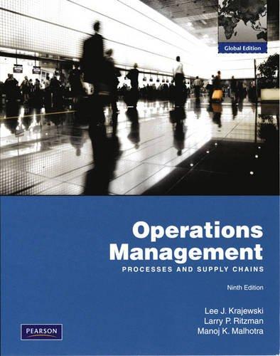 9780132458917: Operations Management