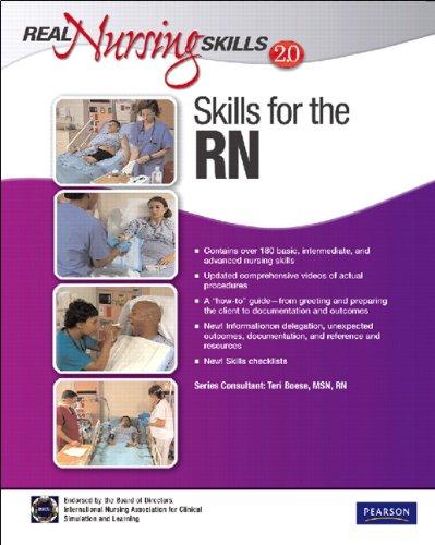 9780132459426: Real Nursing Skills 2.0: Skills for the RN (2nd Edition)