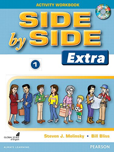 9780132459730: Side by Side (Extra) 1 Activity Workbook with CDs