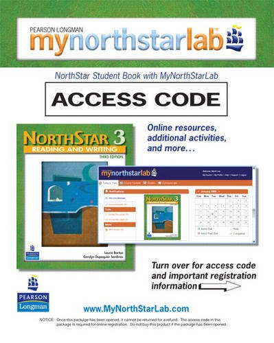 9780132460569: MyNorthStarLab, NorthStar Reading and Writing 3 (Student Access Code Only)