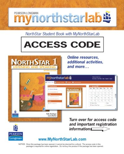 9780132460606: MyNorthStarLab, NorthStar Listening and Speaking 1 (Student Access Code only) (2nd Edition)