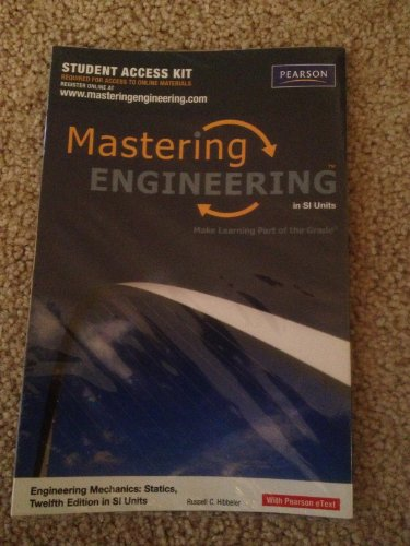 9780132462310: MasteringEngineering -- Standalone Access Card -- for Engineering Mechanics: Statics