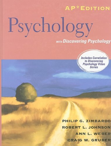 Psychology : AP Edition with Discovery Psychology: Zimbardo, Philip G.