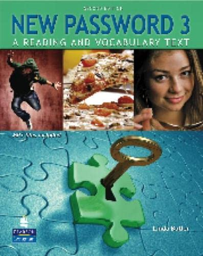 9780132463034: New Password 3: A Reading and Vocabulary Text (with MP3 Audio CD-ROM) (2nd Edition)