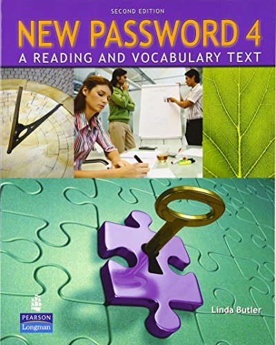 9780132463041: New Password 4: A Reading and Vocabulary Text (without MP3 Audio CD-ROM)