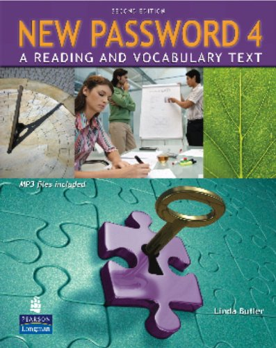 9780132463058: New Password 4: A Reading and Vocabulary Text, 2nd Edition (Book & CD-ROM)