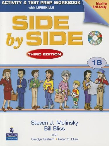 9780132463454: Side by Side 1B Activity & Test Prep WB w/CD
