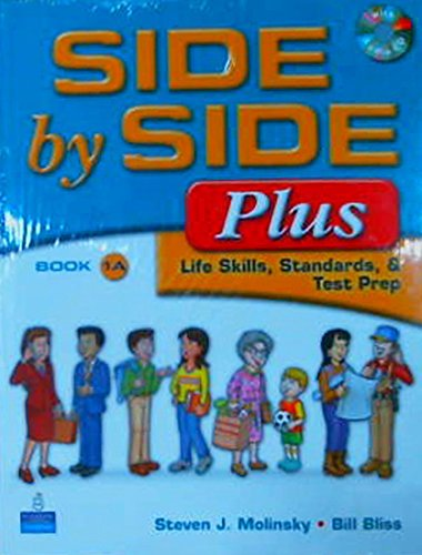 9780132463546: Side by Side Plus 1a Sb W/CD with Side by Side 1a Activity & Test Prep WB W/CD Package