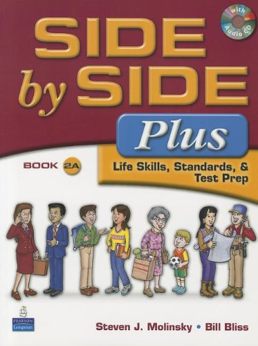 9780132463553: Side by Side Plus 2A SB w/CD with Side by Side 2A Activity & Test Prep WB w/CD Package