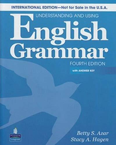 9780132464505: Understanding & Using Engl Grammar Internat'l SB w/AK & AudioCD (4th Edition)