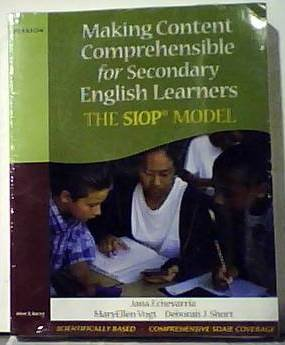 Making Content Comprehesible For Elementary English Learners and Secondary English Learners (two ...