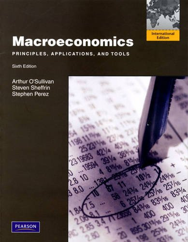 9780132465021: Macroeconomics: Principles, Applications and Tools: International Edition