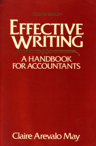 9780132465397: Effective Writing: Handbook for Accountants