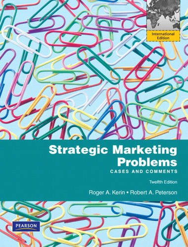 9780132465496: Strategic Marketing Problems: Cases and Comments: International Edition