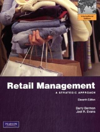 9780132465502: Retail Management: A Strategic Approach: International Edition