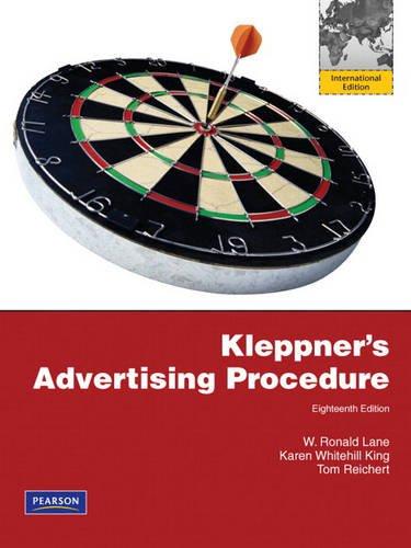 9780132465519: Kleppner's Advertising Procedure