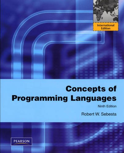9780132465588: Concepts of Programming Languages: International Edition