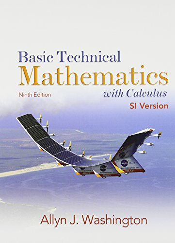 9780132465618: Basic Technical Mathematics with Calculus, SI Version, Ninth Edition with SSM and MyMathLab/MyStatLab Valuepack Access Card (9th Edition)
