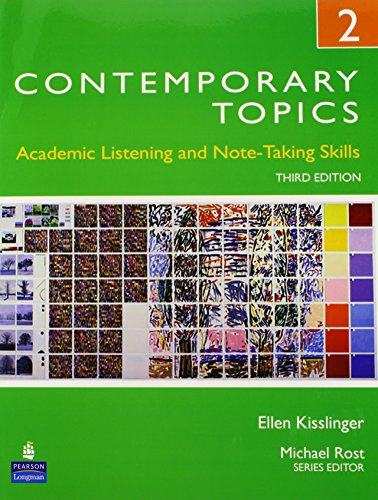 9780132469401: Contemporary Topics 2: Academic Listening and Note-taking Skills (student Book and Classroom Audio CDs)