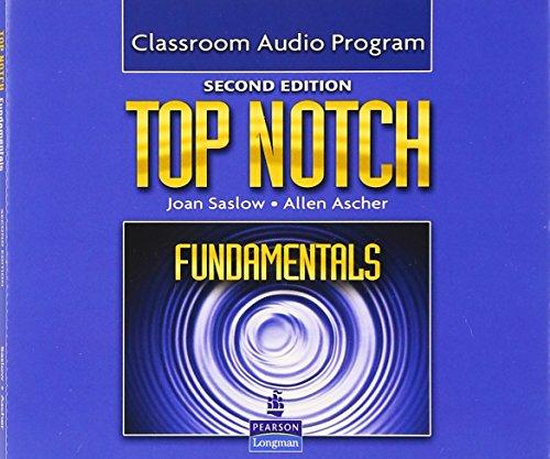 9780132469937: Top Notch Fundamentals Classroom Audio Program, 2nd Edition