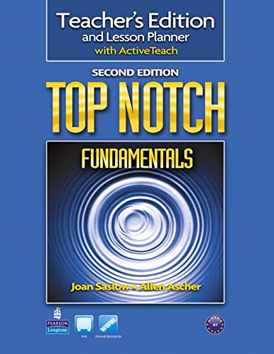 9780132469944: Top Notch Fundamentals Teacher's Edition and Lesson Planner with ActiveTeach, 2nd Edition