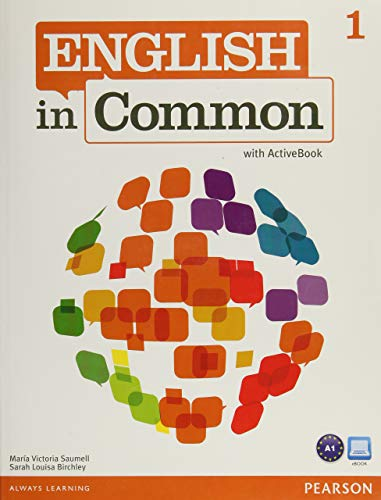 9780132470032: English in Common 1 with Activebook