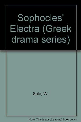 "9780132470155: Sophocles' ""Electra"" (Prentice-Hall Greek drama series)"