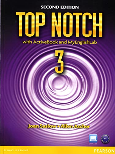 9780132470278: Top Notch 3 with ActiveBook and MyEnglishLab (2nd Edition)