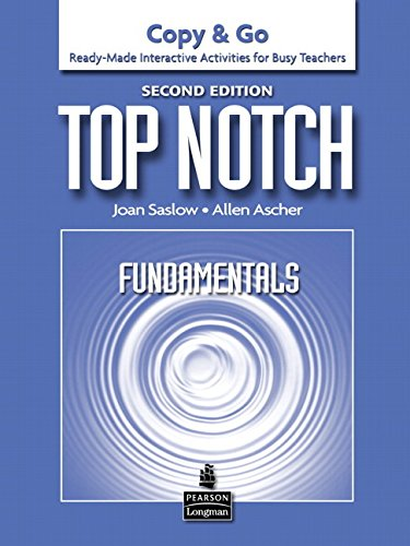 9780132470315: Top Notch Fundamentals: Copy & Go- Ready-Made Interactive Activities for Busy Teachers, 2nd Edition