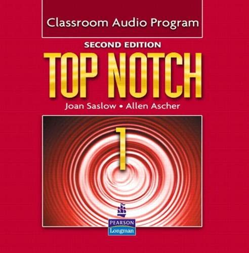 9780132470421: Top Notch 1 Classroom Audio Program, 2nd Edition