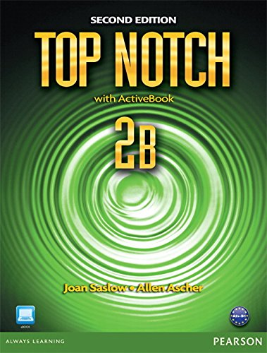 9780132470513: Top Notch 2b Split: Student Book with Activebook and Workbook