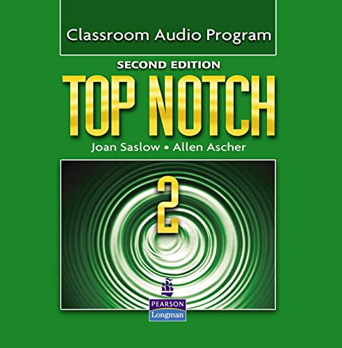 9780132470537: Top Notch 2 Classroom Audio Program