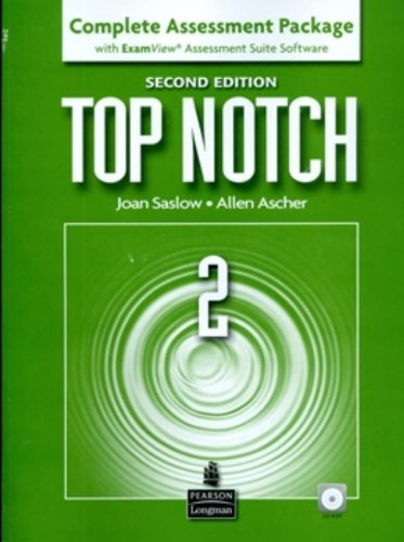 9780132470551: Top Notch, 2nd Edition, Complete Assessment Package with ExamView Assessment Suite Software