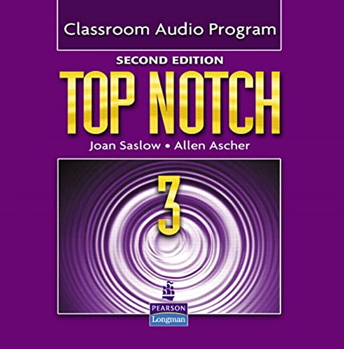 9780132470742: Top Notch 3 Classroom Audio Program