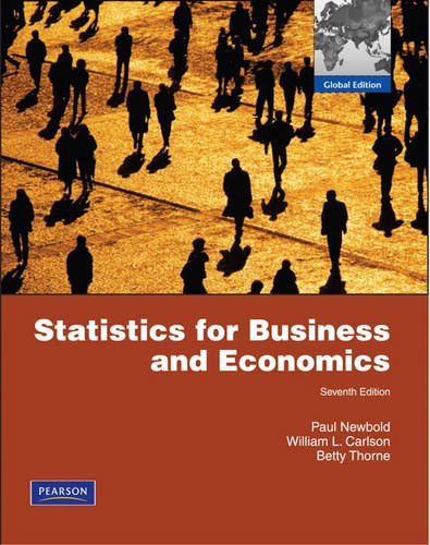 9780132471107: Statistics for Business and Economics and MathXL Student Access Card Package