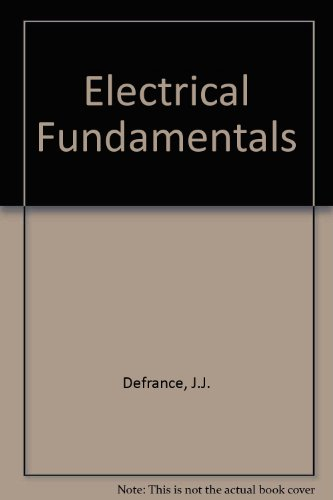 9780132471978: Electrical fundamentals