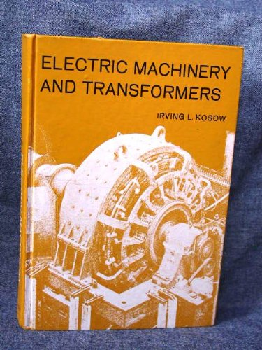 9780132472050: Electric Machinery and Transformers (Prentice-Hall series in electronic technology)