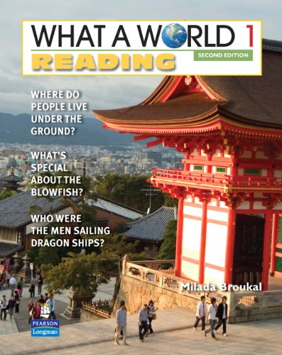 9780132472678: What a World Reading 1: Amazing Stories from Around the Globe (2nd Edition) (What a World Reading: Amazing Stories from Around the Globe)