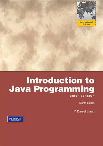 9780132473118: Introduction to Java Programming, Brief: International Version
