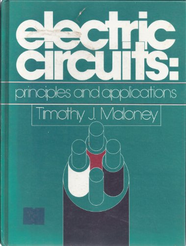 9780132473538: Electric circuits: Principles and applications