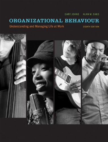 9780132473941: Organizational Behaviour: Understanding and Managing Life at Work with MyOBLab (8th Edition)