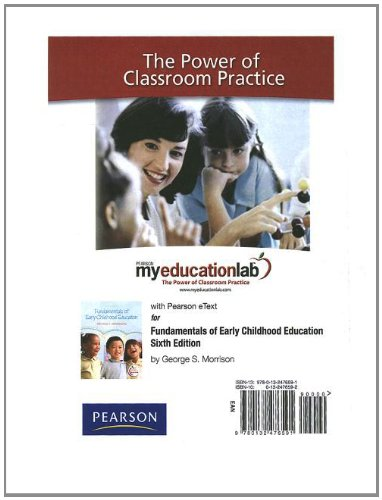 9780132476591: MyEducationLab with Pearson eText -- Standalone Access Card -- for Fundamentals of Early Childhood Education (myeducationlab (Access Codes))
