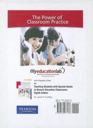 9780132477178: MyEducationLab with Pearson eText -- Standalone Access Card -- for Teaching Students with Special Needs (myeducationlab (Access Codes))